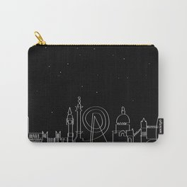 London Skyline at night Carry-All Pouch