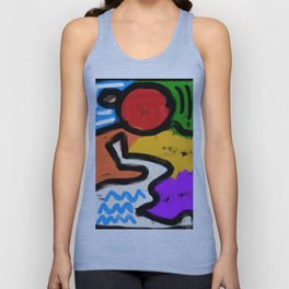The flow Unisex Tank Top