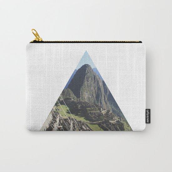 Machu Picchu - Geometric Photography Carry-All Pouch