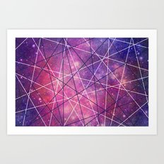 Fly Up to the Heavens (color) Art Print