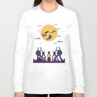 majora Long Sleeve T-shirts featuring Majora and Pan  by IF ONLY