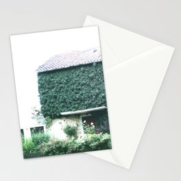 Wine maker house Stationery Cards
