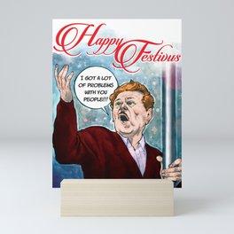 Festivus Holiday Card Mini Art Print