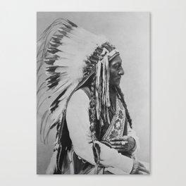 Chief Sitting Bull Canvas Print