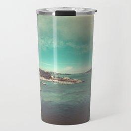 San Francisco Bay from Golden Gate Bridge Travel Mug