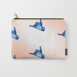 Baesic Shaka Blue Tye Dye Carry-All Pouch