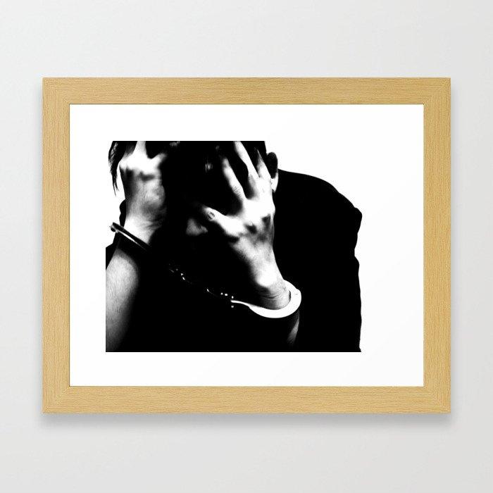 [ ... Guilty - #1. ] Framed Art Print