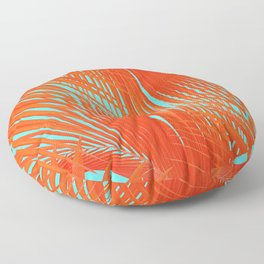 Flame Frenzy Floor Pillow