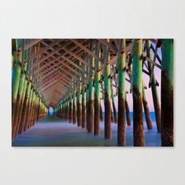 Under the Pier 1 Canvas Print