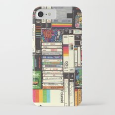 Cassettes, VHS & Atari iPhone 7 Slim Case