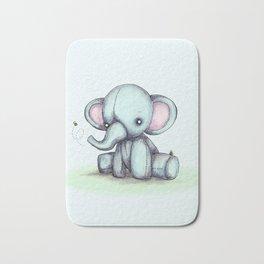 Elephant & Bee Bath Mat