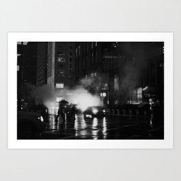 Fifth Avenue Nights Art Print