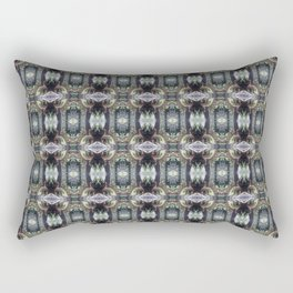 """forest """"troll"""" in the snow #2 pattern Rectangular Pillow"""