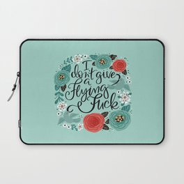 Pretty Swe*ry: I Don't Give a Flying Fuck Laptop Sleeve