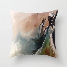 Singer Throw Pillow