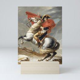 Bonaparte Crossing the Alps Mini Art Print