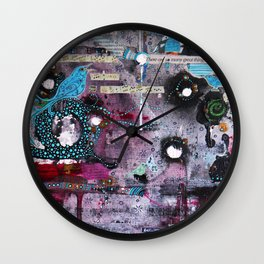 About Birdsong Wall Clock
