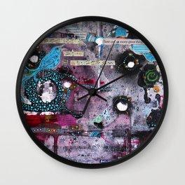 About Birdsong Wall Clock