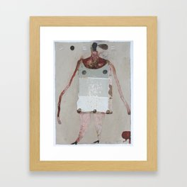 Ok Well Framed Art Print