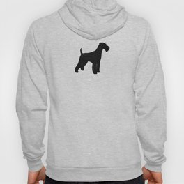 Airedale Terrier Silhouette(s) Hoody