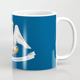 Flag of Louisiana -Louisianian,south, jazz,blues,french, new orleans, baton rouge,usa,america,us Coffee Mug