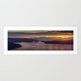 Pastel Sunrise Art Print