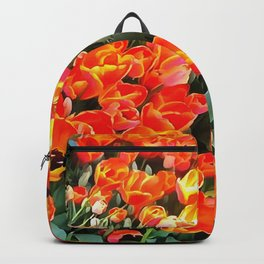 Tulips On Fire Backpack