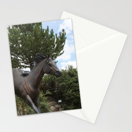 HORSES AT LARGE Stationery Cards