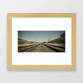 Wrong Side Framed Art Print