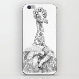 Madame Adélie Girafe iPhone Skin