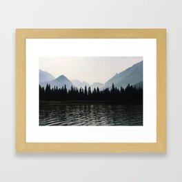 Glacier National Park II Framed Art Print
