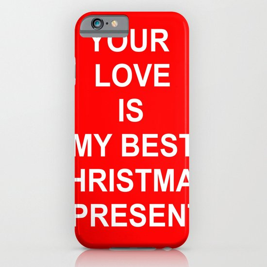Christmas Red iPhone & iPod Case