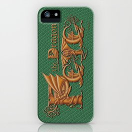 Pete, the Dragon iPhone Case