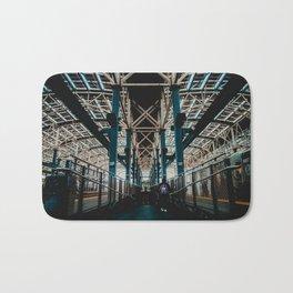 Coney Island Pier Subway Station 2 Bath Mat