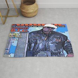 The source cover number 70 The Notorious B.I.G. Rug