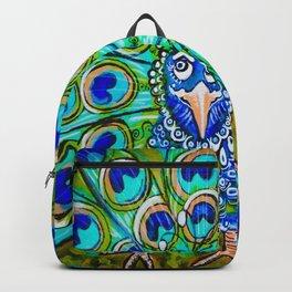 Jo Jo's Peacock Backpack