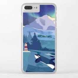 A Whale Story Clear iPhone Case