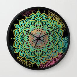 Boho Medallions Wall Clock