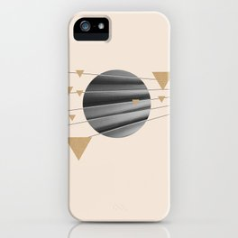 Abstract Composition 04 iPhone Case
