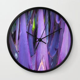 433 - Abstract plant design Wall Clock