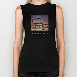 "Tall Ship ""Mircea"" Biker Tank"