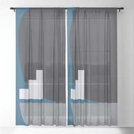 Shape study #4 - Stackable Collection Sheer Curtain