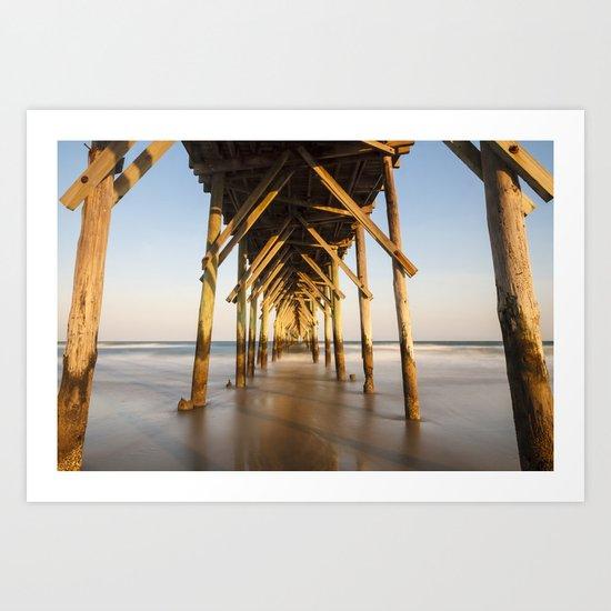 Pier II Art Print