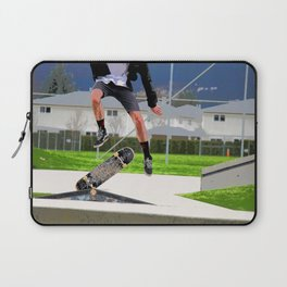 Missed Opportunity  - Skateboarder Laptop Sleeve