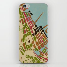 cypher number 9 iPhone Skin