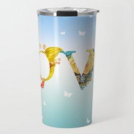 Love In The Air Travel Mug
