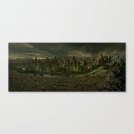 Amber Lake Canvas Print