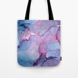 Alcohol Ink - Dreamy Clouds Tote Bag