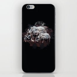 Dangerous Rhino iPhone Skin