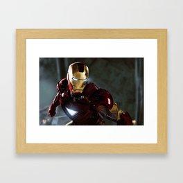 Armored Avenger Framed Art Print